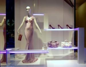 Vitrine chez Dior