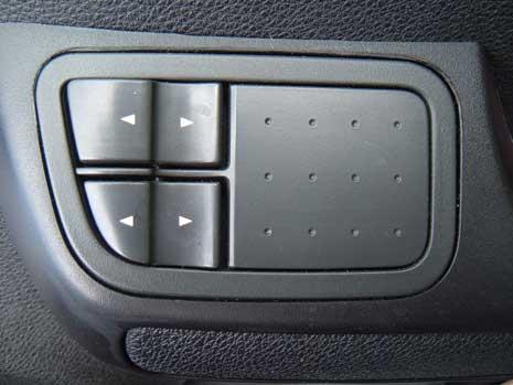 Mapping contrôle - vitre électrique