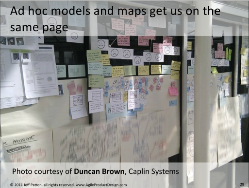 Partager les idées générer par le Design Thinking