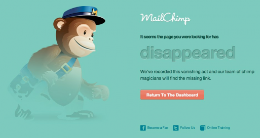 Mailchimp - un exemple de design émotionnel